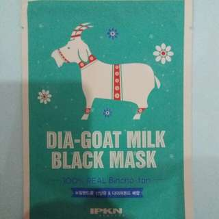 IPKN Dia Goat Milk Black Mask