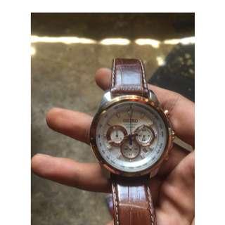 Seiko chronograph 052bss
