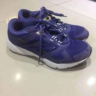 Reebok Studio Running Workout Sepatu Olahraga Asli Jogging Marathon Lari Training shoe ungu purple #123moveon