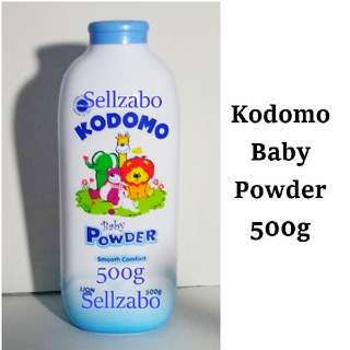 Kodomo Smooth Comfort 500g Baby Powder Skin Body Care Baby Babies Kids Toddlers Children Infants Sellzabo
