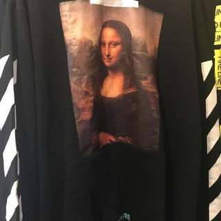Off white  Mona Lisa crewneck