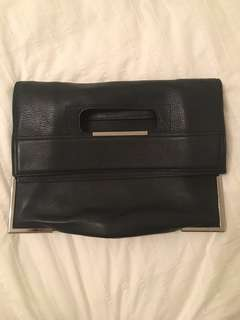 3.1 Philip Lim Black Leather Tote Bag