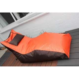 New comfortable indoor or outdoor lazy bean bag lounger chair from Bali