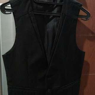Vest Men Color Black