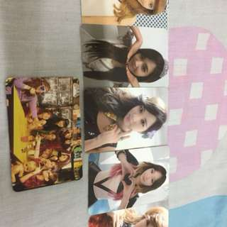 Girl generation official photocard