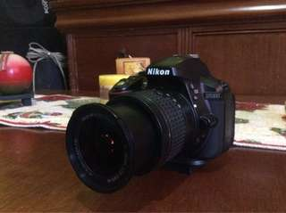 NIKON D5300 w/ 18-55mm VR Kit lense and 35mm f2 prime wide angled lense