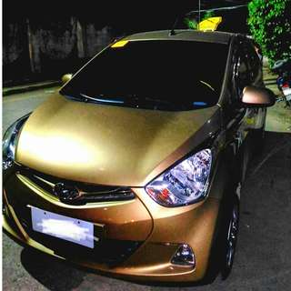 Hyundai eon 0.8 glx 2016 mt (gold)