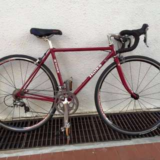 Holks chromoly road bike with Shimano 105/10 speed component