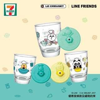 🉐(Free gift8️⃣)7-11 Le Creuset X Line Friends