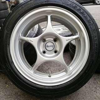 Enkei rpo1 16 inch sportrim vios tyre 90%. Bawa beca pusing pasar basah, ini rim you tak beli confirm you resah!!!!