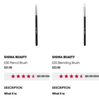 authentic sigma eyeshadow brush