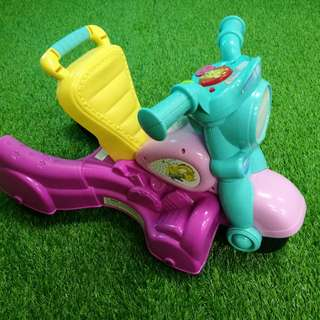 Playskool 2 in 1 motorcycle (pushwalker & ride on)