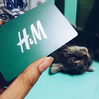 H&M Gift Card worth P2,000