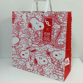 Snoopy Paper Bag