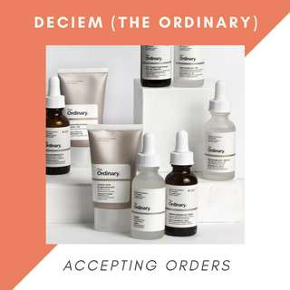 Deciem - Accepting Orders