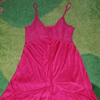 Baju Tidur Lingerin Sorella Pink