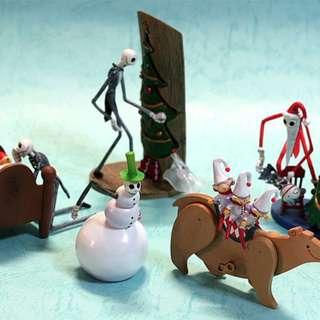 Yujin Disney 迪士尼 Nightmare Before Christmas 怪誕城之夜 阿Jack 人物 扭蛋 3