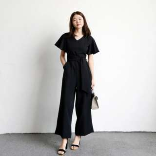 🔴BNWT🔴taobao tansshop Black Jumpsuit mds doublewoot
