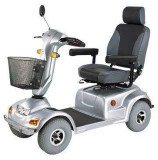 Rent-a-4 wheel mobility scooter