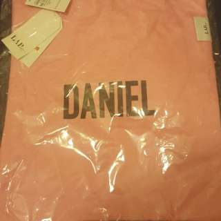 Daniel (Wanna one) x LAP tote bag crossover 2018