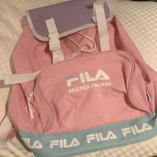 NEW Limited Edition FILA backpack