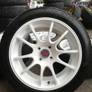 Advan rg 16 inch sports rim honda city tyre 70%. Beli tudung dekat zoo, boss ini rim memang aummmm!! ( bunyi rimau dalam zoo )