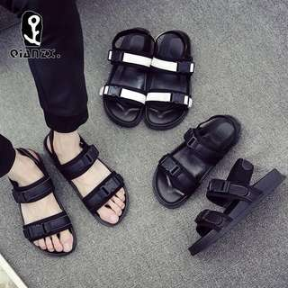 Summer sandals men trend Korean outdoor personalized beach shoes wild casual shoes students wear slippers