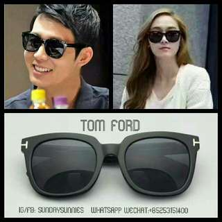 Tom Ford TF211 square acetate sunglasses 太陽眼鏡