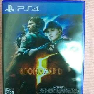 PS4惡靈古堡5!!!