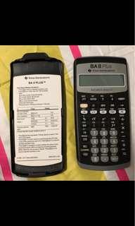 Texas Instruments BA ll Plus Financial Calculator