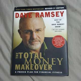 Dave Ramsey's The Total Money Makover - A Proven Plan for Financial Fitness textbook AND workbook