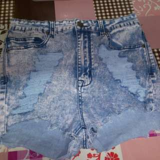 Ripped sexy short