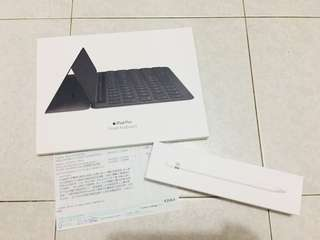 Apple Smart Keyboard & smart pencil