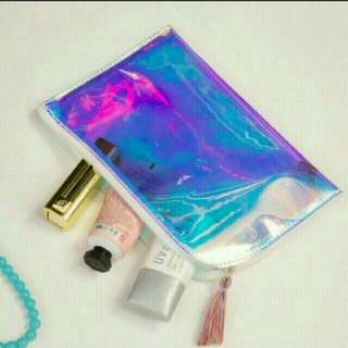 INSTOCKS!! Holographic Clutch Bag / case