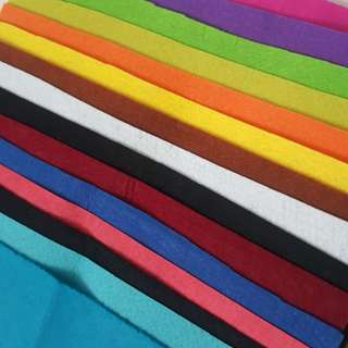 Kain Felt 15 Warna #FEB50