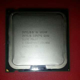 Intel core 2 quad processor
