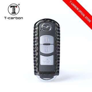 Trendy T-Carbon™ 100% Carbon Fiber Key case / Key Fob / Key protector (Honda / Audi / Mercede Benz / Mazda / BMW / Nissan / Qashqai / Volkswagen / Porsche / GTR / Subaru / Lexus / Land Rover)