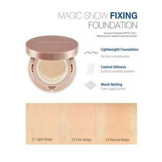 April Skin Magic Snow Fixing Foundation