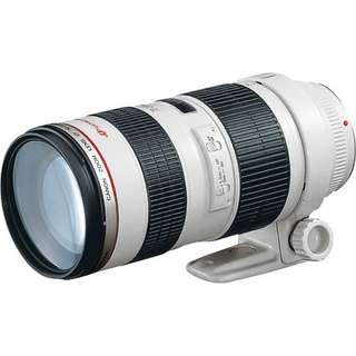 Canon 70-200mm f/2.8L non IS