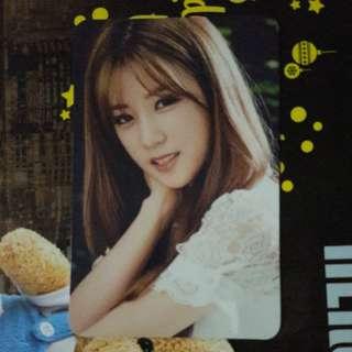 Apink Chorong Photocard