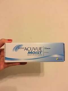 1 Day ACUVUE MOIST 隱形眼鏡