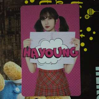 Apink Hayoung Photocard