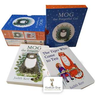 Story book Box Set - The Tiger Who Came To Tea / Mog The Forgetful Cat