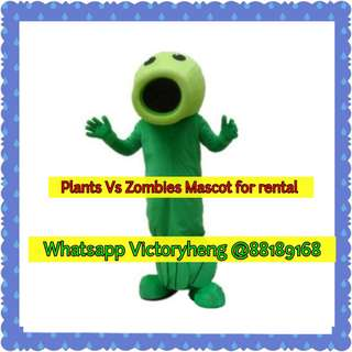 Peashooter (Plants Vs Zombies Mascot) for rental