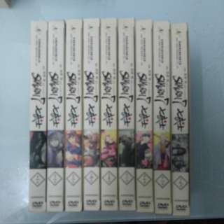 黑澤 明 七武士DVD一套