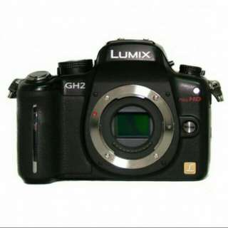 Cheapest! Brand new Panasonic GH2 body with extra batteries
