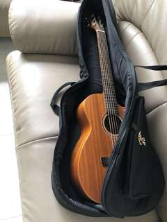 Travel Guitar Timothy Junior (Full Solid Mahogany)
