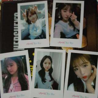 Apink Bye Bye Photo Blue Version