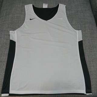 🚚 Nike 籃球吸濕排汗雙面背心 灰白