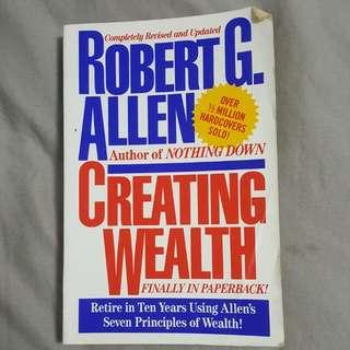 Robert G. Allen's Creating Wealth in paperback